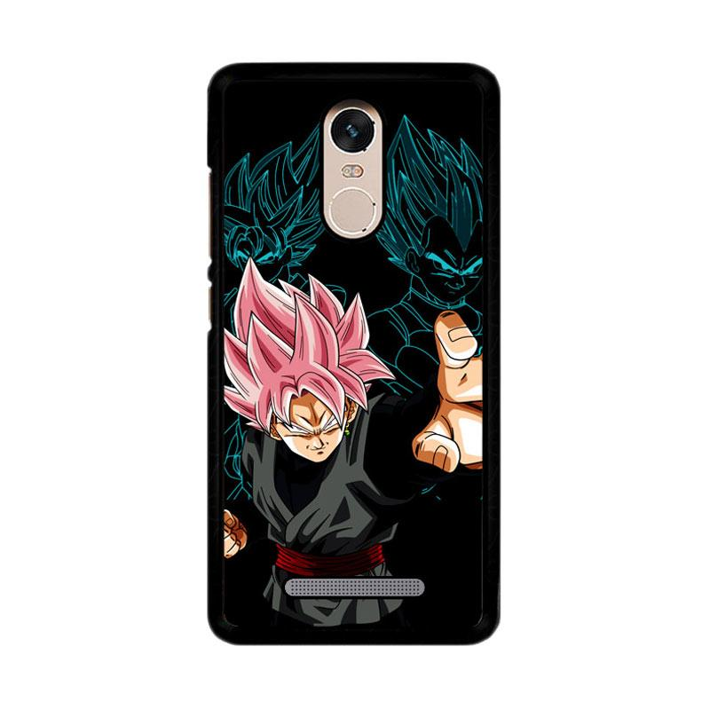 Flazzstore Dragon Ball Super Black Goku Z3887 Custom Casing for Xiaomi Redmi Note 3 or Note 3 Pro