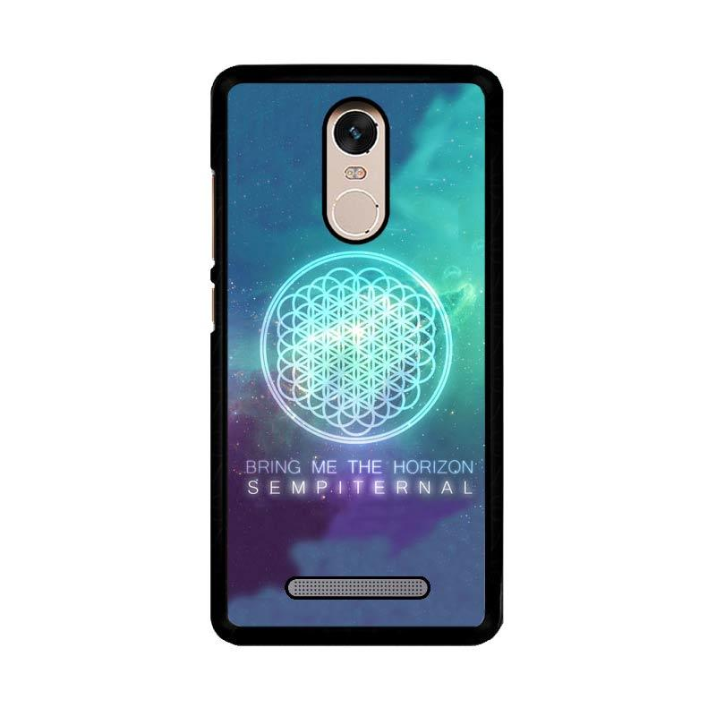 Flazzstore Bring Me The Horizon Logo Sempiternal Galaxy Z3974 Custom Casing for Xiaomi Redmi Note 3 or Xiaomi Redmi Note 3 Pro