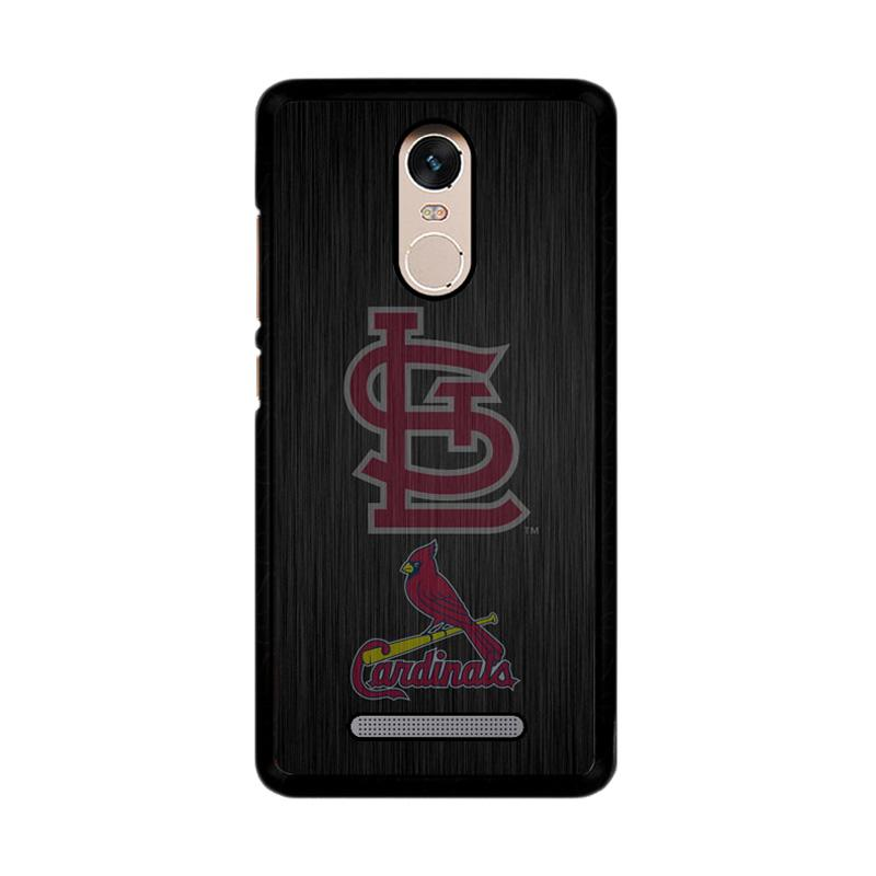 Flazzstore St. Louis Cardinals Logo Wood Z4064 Custom Casing for Xiaomi Redmi Note 3 or Note 3 Pro