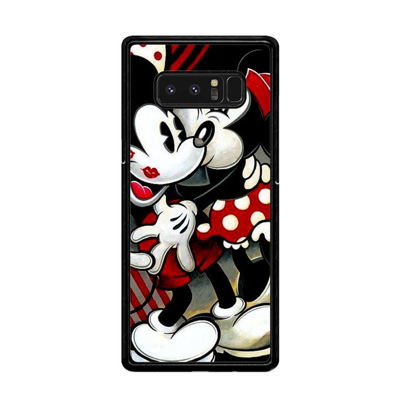 Flazzstore Hugs And Kisses Mickey Minnie Mouse Z1557 Custom Casing for Samsung Galaxy Note8