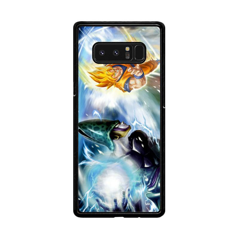 Flazzstore Dragonball Z Cell Vs Goku Z1600 Custom Casing for Samsung Galaxy Note 8