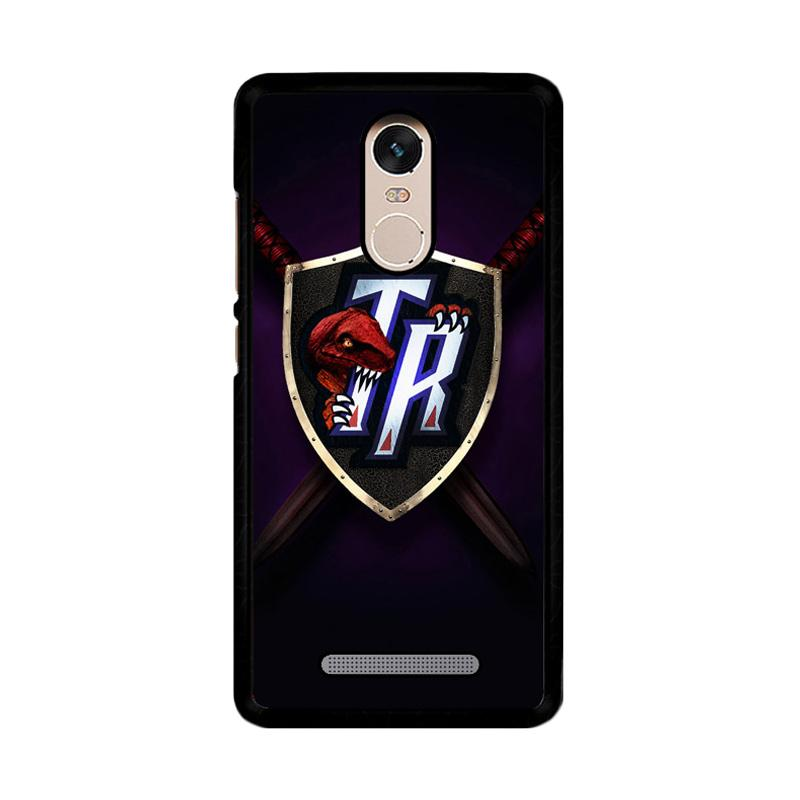 Flazzstore Toronto Raptors Logo Z4180 Custom Casing for Xiaomi Redmi Note 3 or Note 3 Pro
