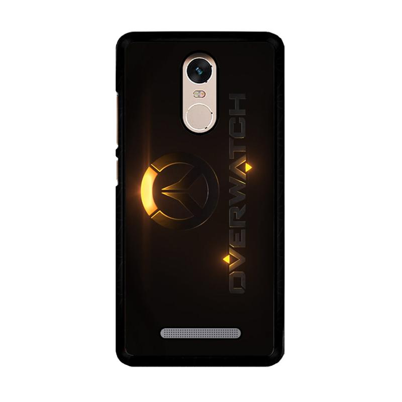 Flazzstore Overwatch Logo Z4295 Custom Casing for Xiaomi Redmi Note 3 or Note 3 Pro