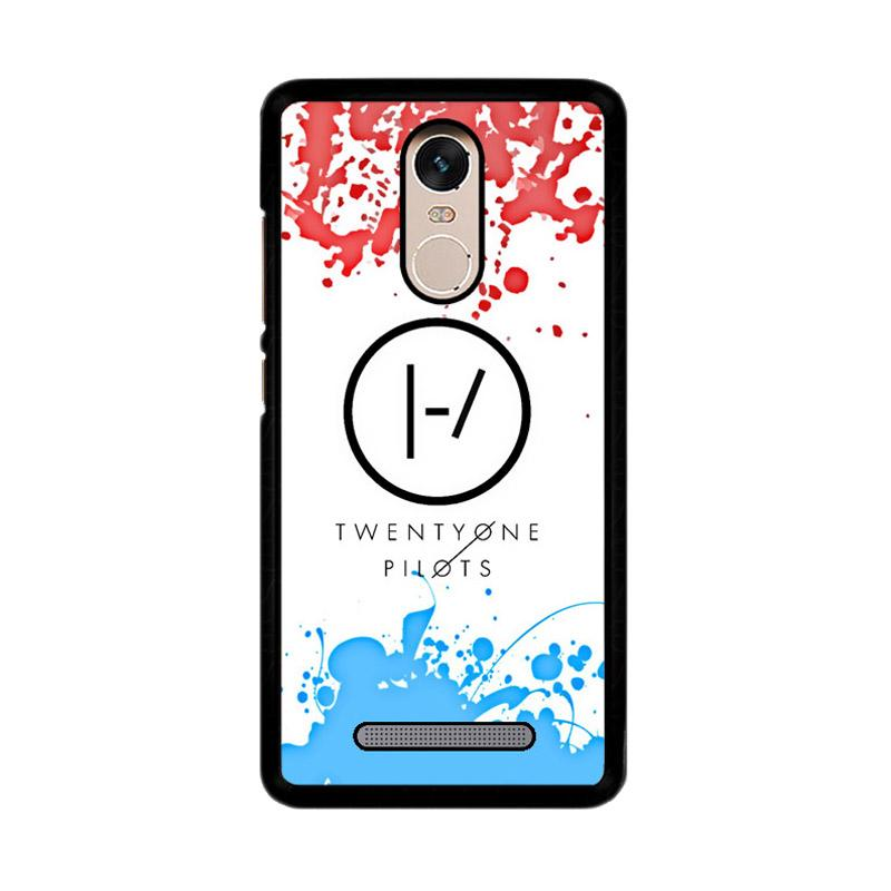 Flazzstore 21 Twenty One Pilots Red Blue Z4417 Custom Casing for Xiaomi Redmi Note 3 or Note 3 Pro