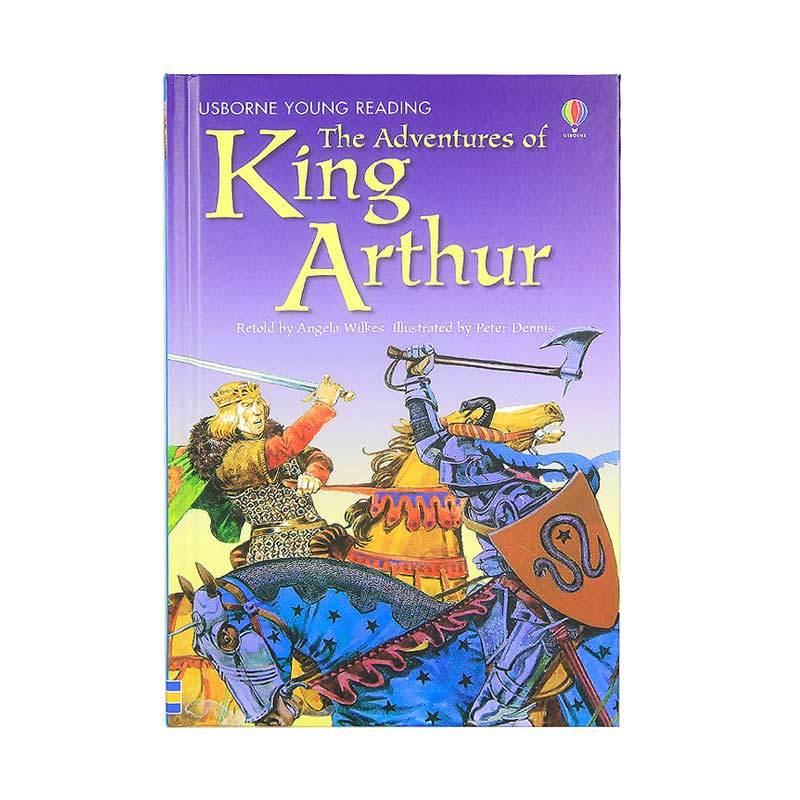 Usborne Books The Adventures Of King Arthur Buku Anak