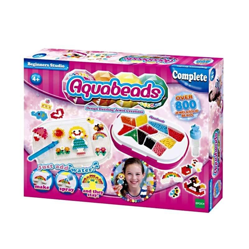 Aquabeads Beginners Studio [800 pcs Beads]