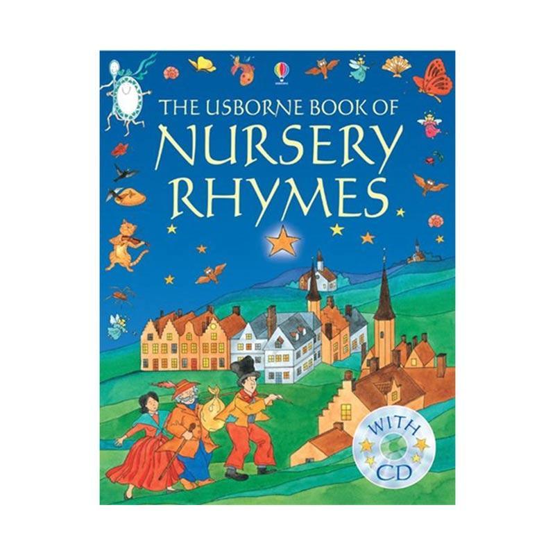 Genius The Usborne Book of Nursery Rhymes with CD Buku Anak