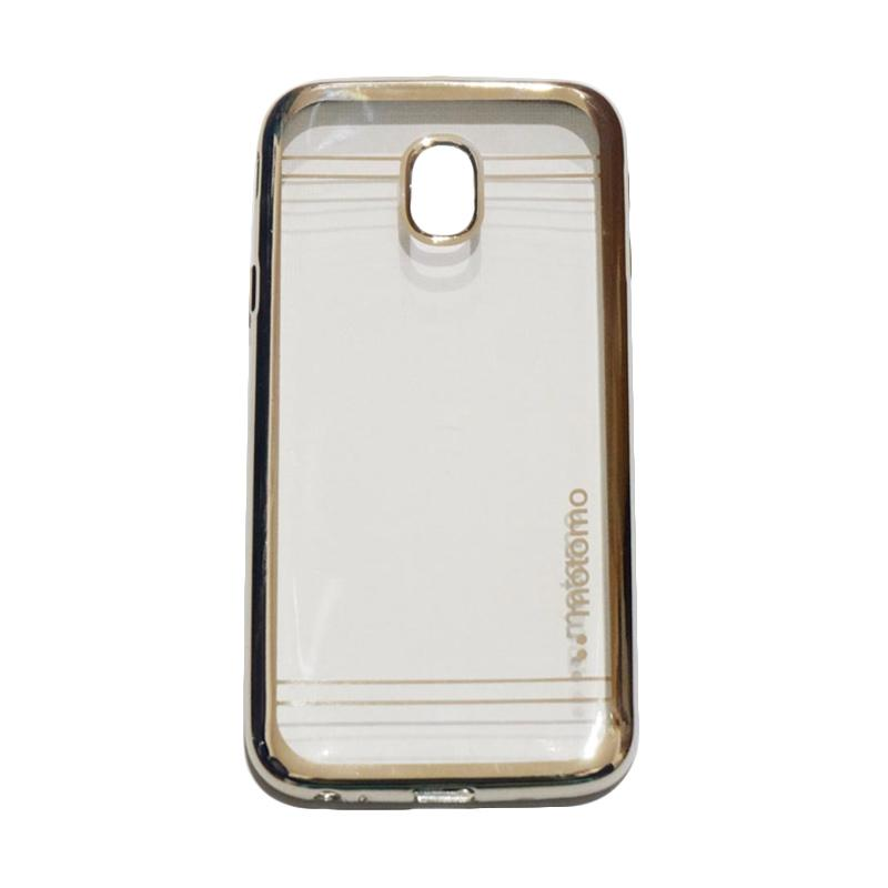 Motomo Softcase Shining Chrome Ultrathin Casing for Samsung Galaxy J3 Pro 2017 J330 - Silver