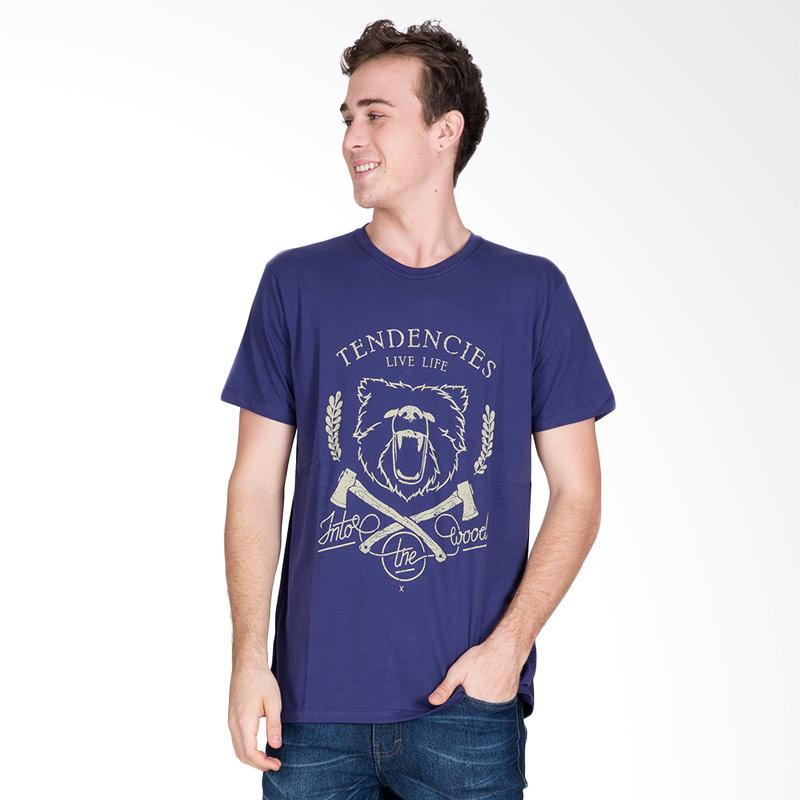 Tendencies The Bear T-Shirt Pria