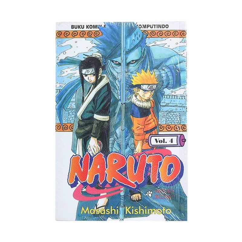 Elex Media Komputindo Naruto 04 200019623 by Masashi Kishimoto Buku Komik