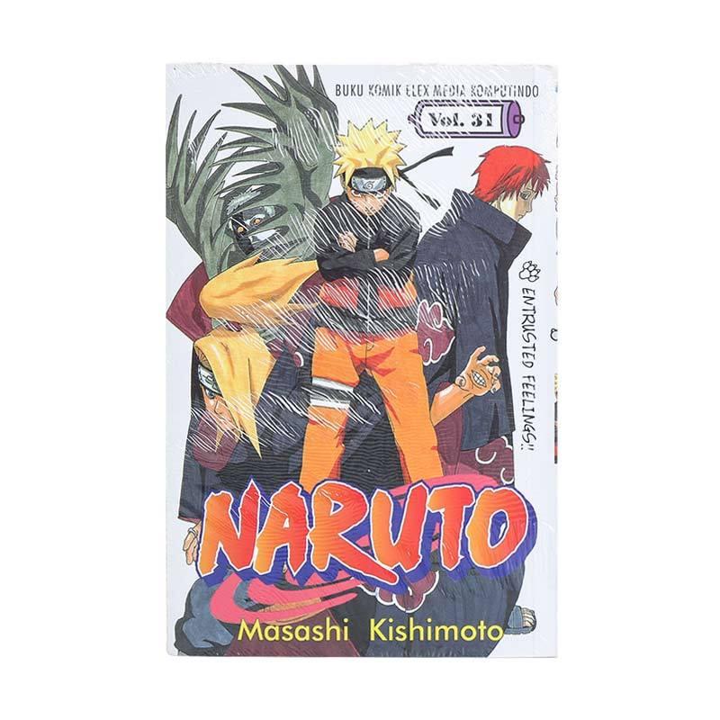 Elex Media Komputindo Naruto 31 200000582 by Masashi Kishimoto Buku Komik