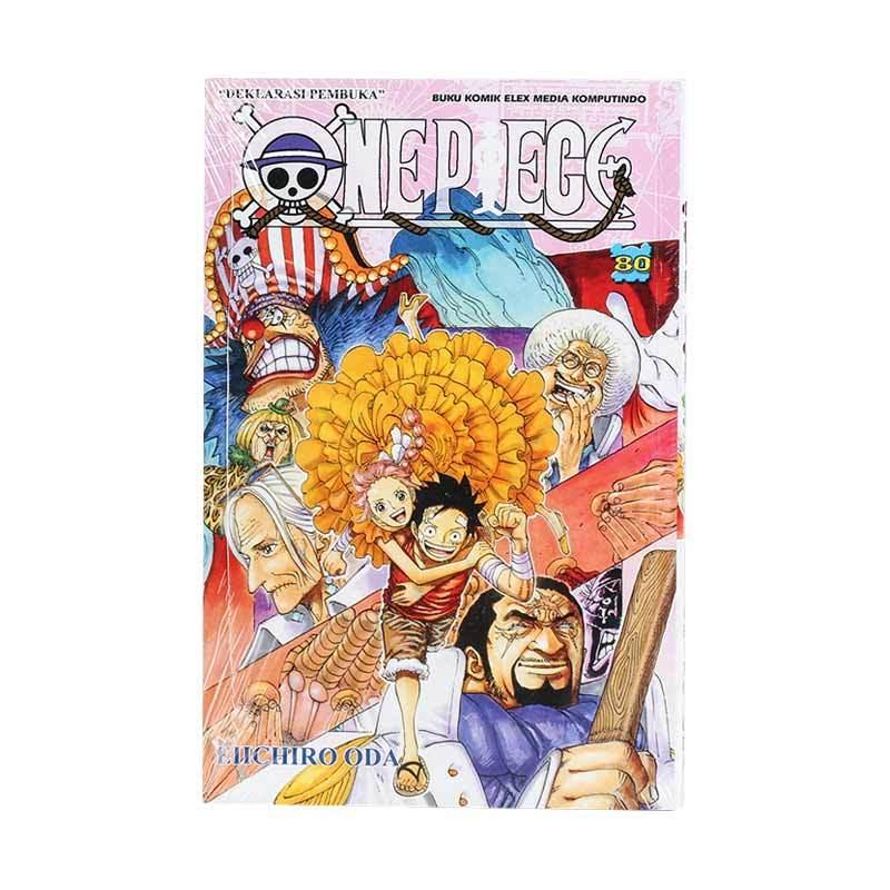 Elex Media Komputindo One Piece 80 717010714 by Eiichiro Oda Buku Komik