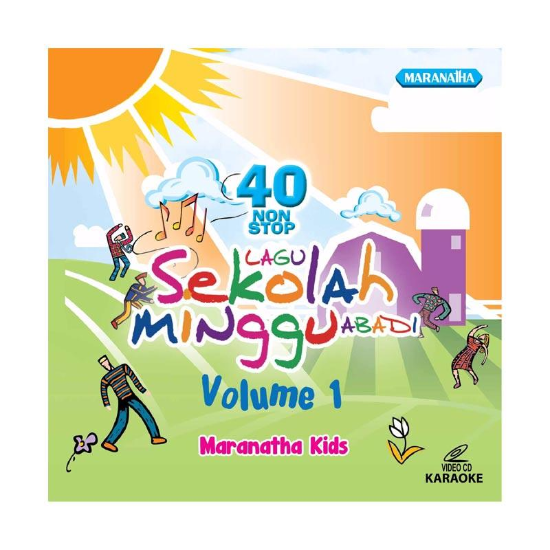 harga Maranatha Records VCDM-709C Maranatha Kids 40 Nonstop Sekolah Minggu Abadi Vol. 1 CD Rohani Blibli.com