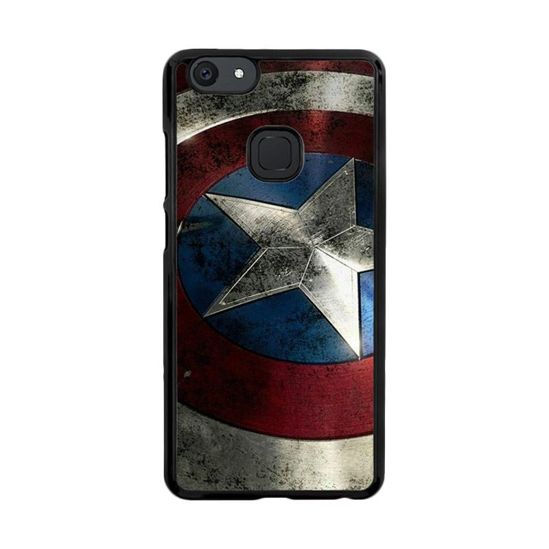 Flazzstore Captain America-0001 O0169 Custom Casing for Vivo V7