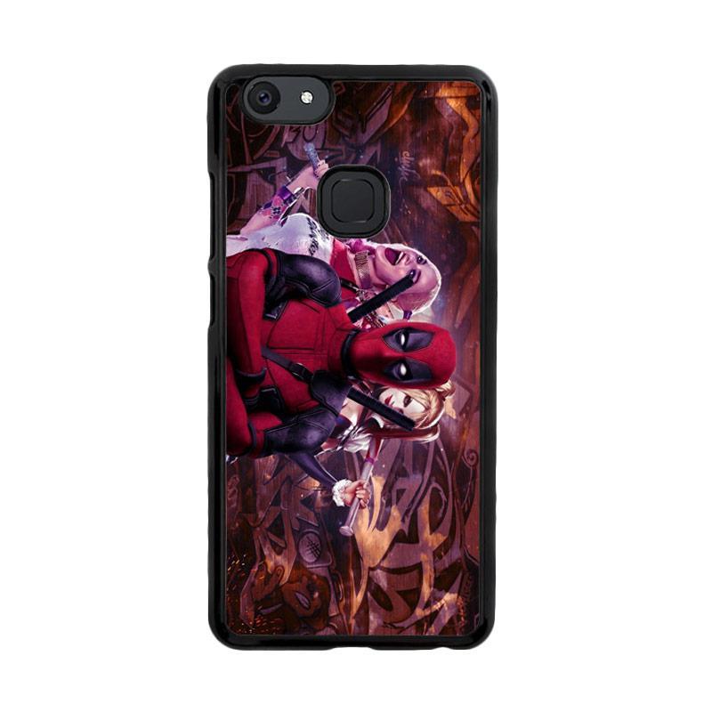 Flazzstore Harley Quinn and Deadpool O0692 Custom Casing for Vivo V7