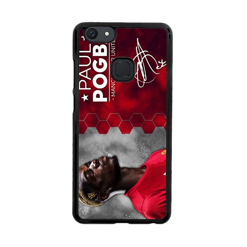 Flazzstore Paul Pogba Manchester United Z4273 Custom Casing for Vivo V7
