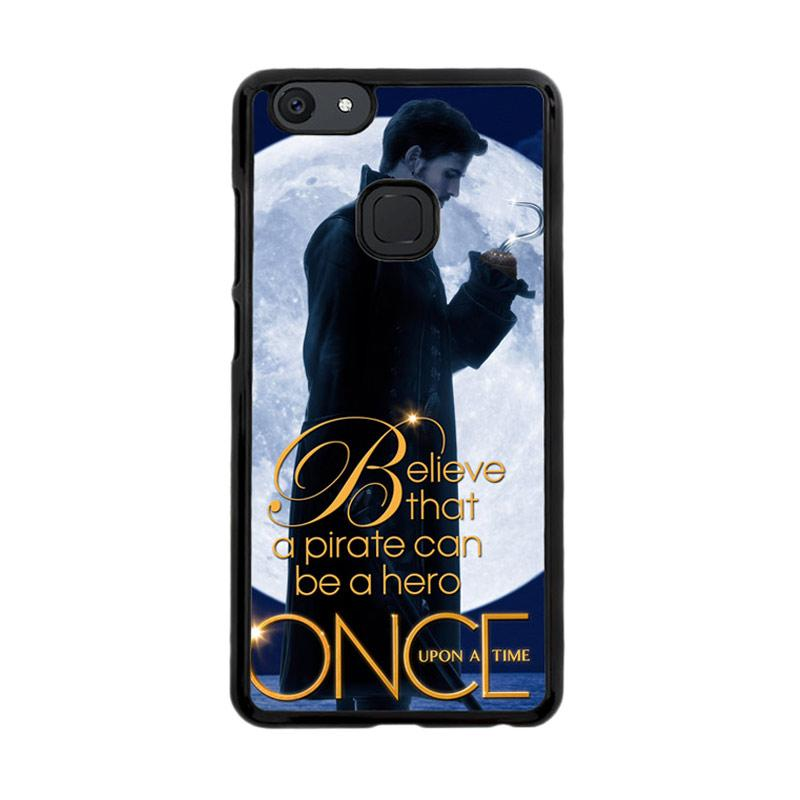 Flazzstore Once Upon A Time Captain Hook Believe F0542 Custom Casing for Vivo V7