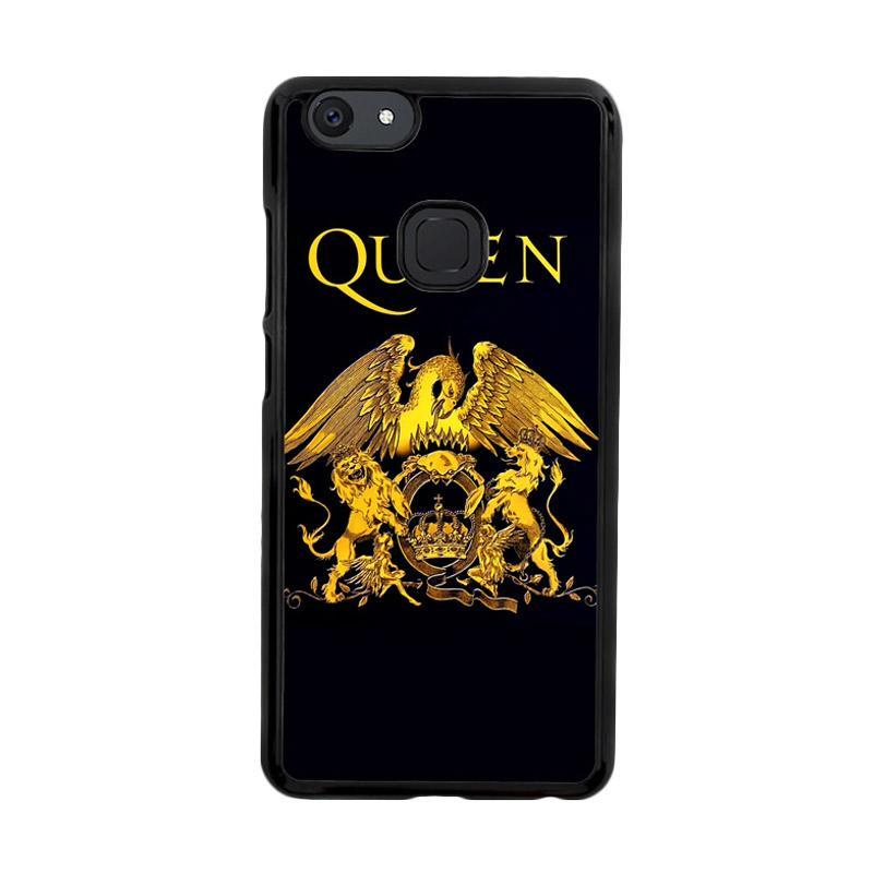 Flazzstore Queen Logo Gold Z0260 Custom Casing for Vivo V7