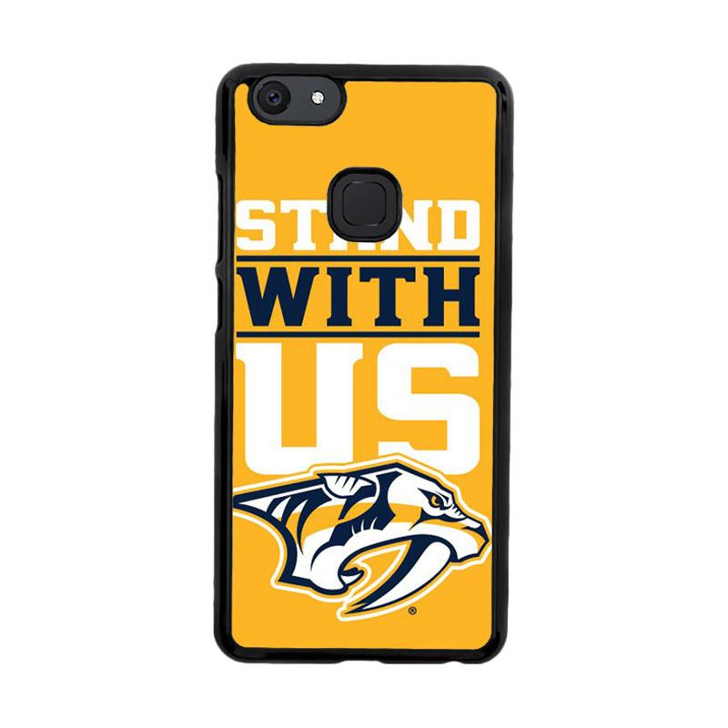 Flazzstore Nashville Predators Stand With Us Z4786 Custom Casing for Vivo V7