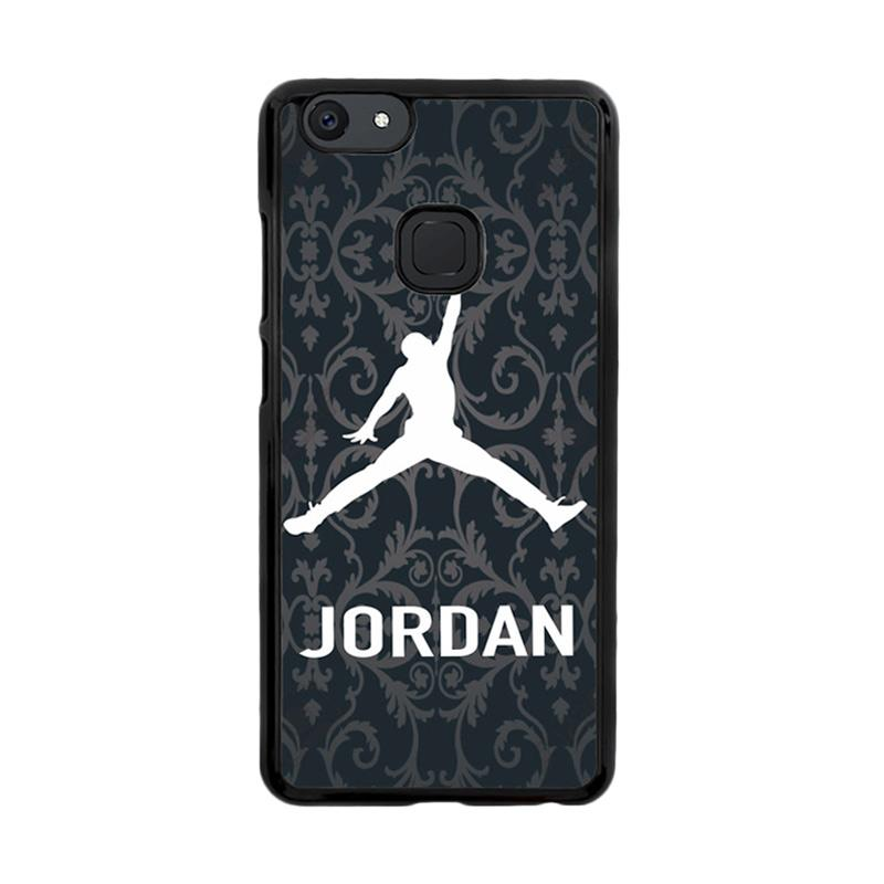 Flazzstore Jordan Luxury Black X3131 Custom Casing for Vivo V7