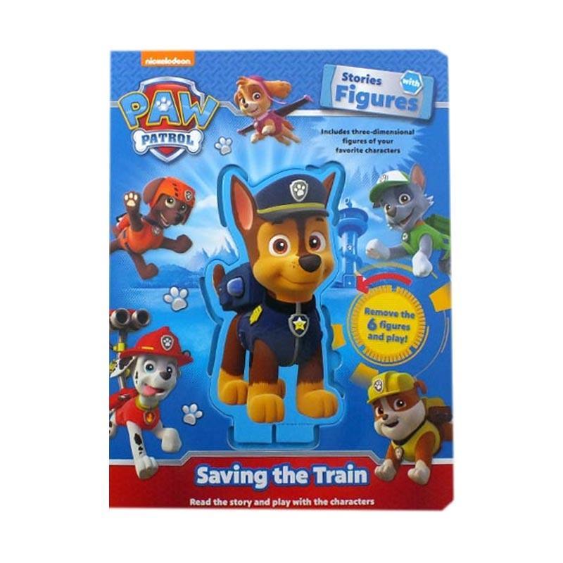 harga The Novelty Book N-Nick Paw Patrol Stories with Figures Buku Permainan Edukasi [24-47 Months] Blibli.com