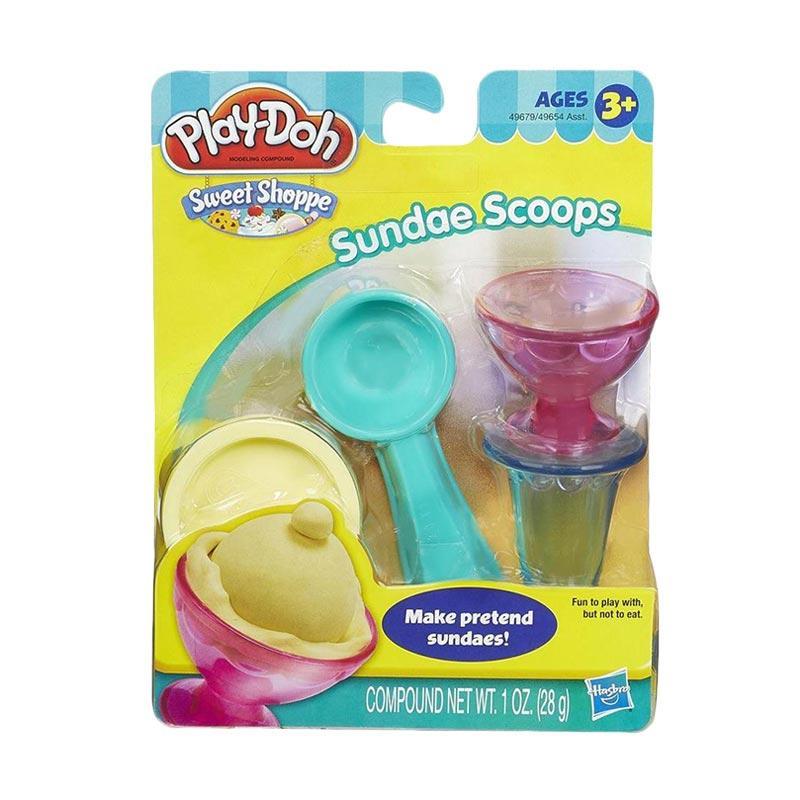 harga Playdoh Sweet Shoppe Sundae Scoops Set 49679 Blibli.com