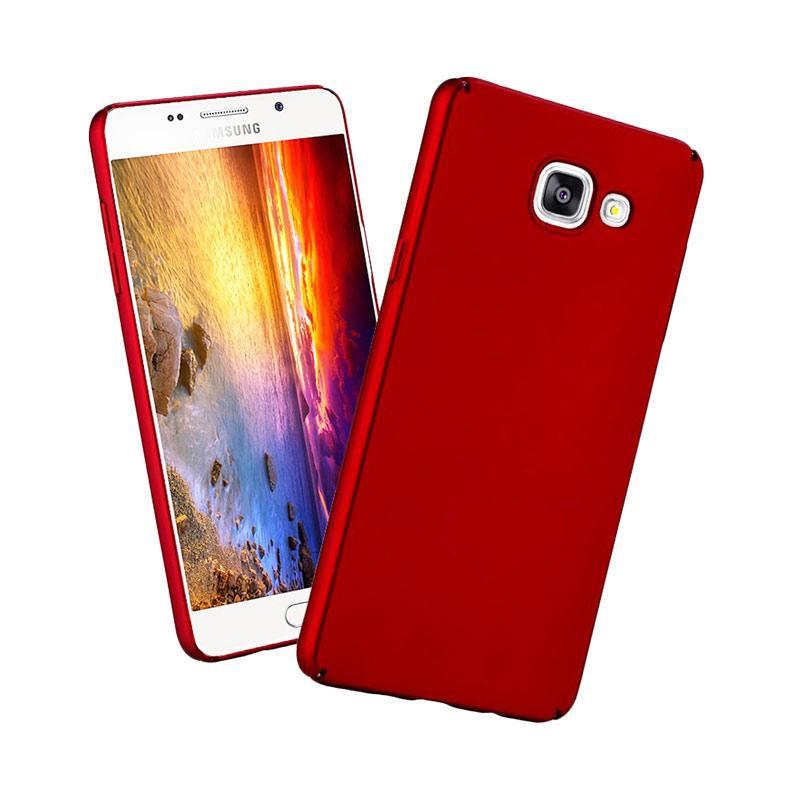 buy popular 9cd89 5e88f VR Hardcase Samsung J7 Prime Baby Skin Red Matte Slim Casing for Samsung  Galaxy J7 Prime - Red