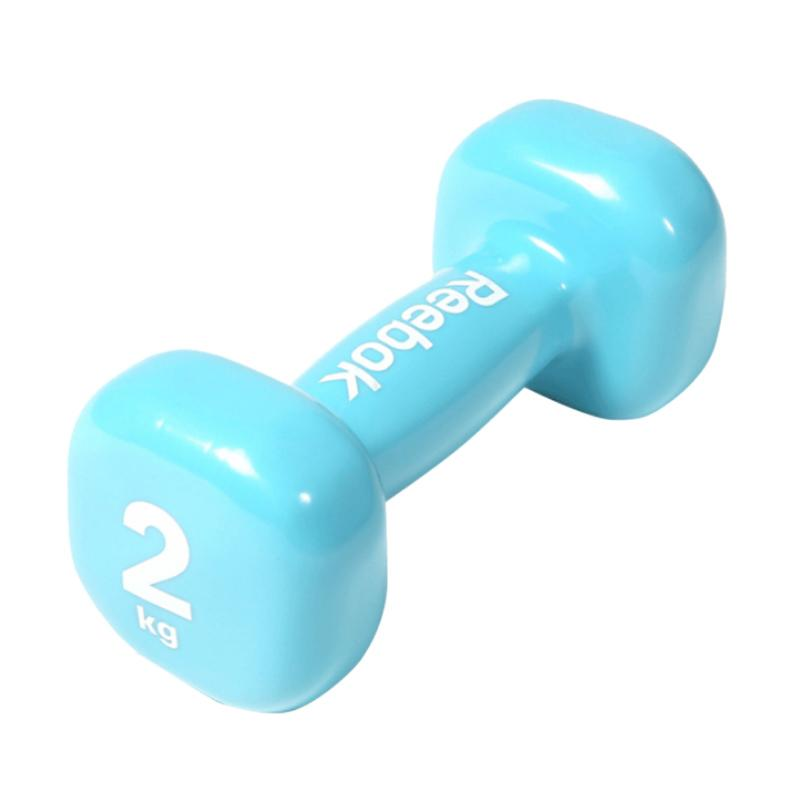 Reebok Dumbbel Peralatan Fitness - Blue [WT11152/2 kg]