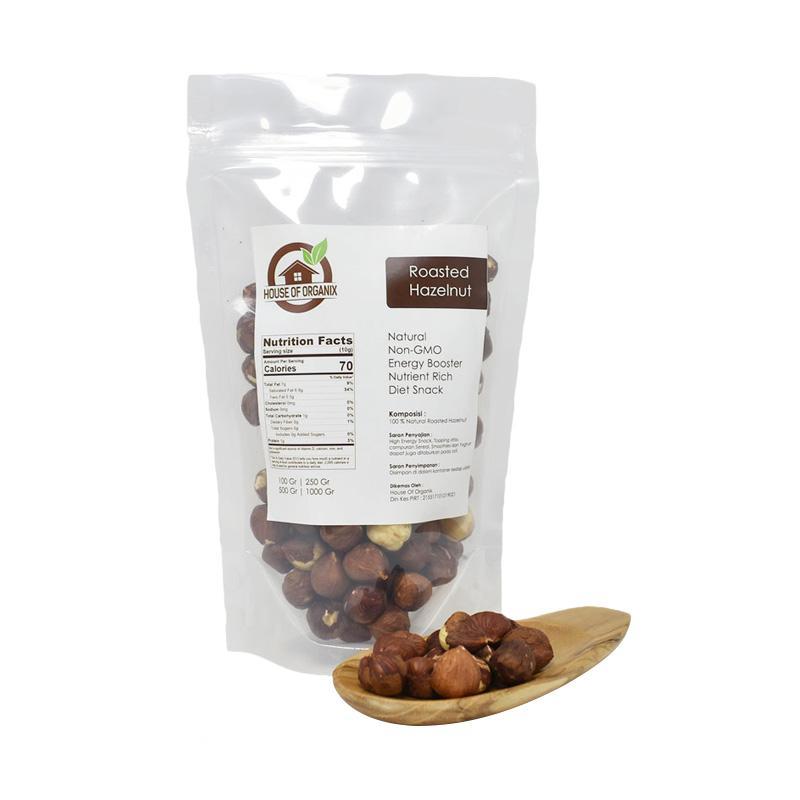 harga House of organix Roasted Hazelnut Kacang [100 g] Blibli.com