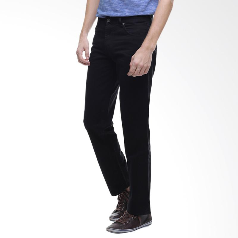 LGS Celana Jeans Pria - Hitam [CCT.355.026.783.C]