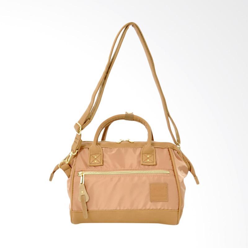 Jual Anello AT-H1241 2 Way Size Mini Shoulder Bag - Natural Pink ... 1a735f9bd4