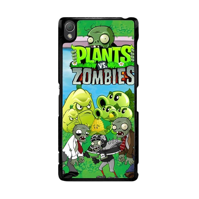 harga Flazzstore Plants Zombie D125 Custom Casing for SONY Xperia Z3 Blibli.com