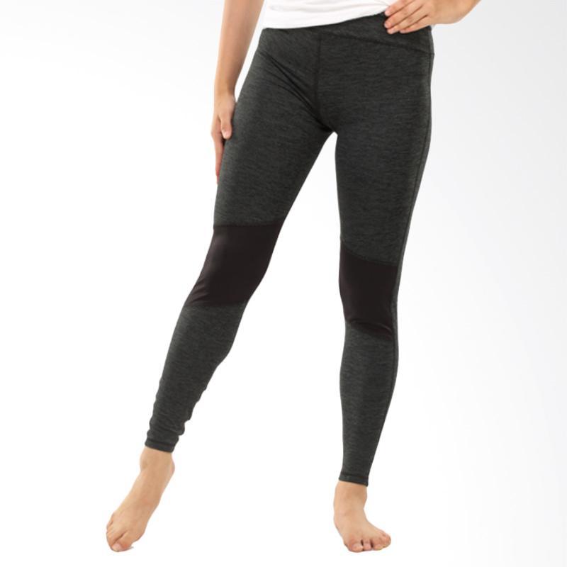 GRAZIEE Mesh Back Legging Celana Olahraga Wanita - Black [09GRL0010]