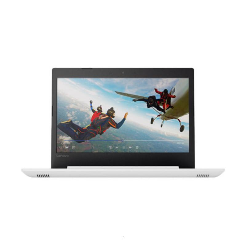 harga Lenovo IdeaPad 320-14AST-80XU00-0TID BLIZZARD WHITE - [AMD A9-9420 3.0-3.60GHz/4GB/1TB/R5 M530 2GB/14