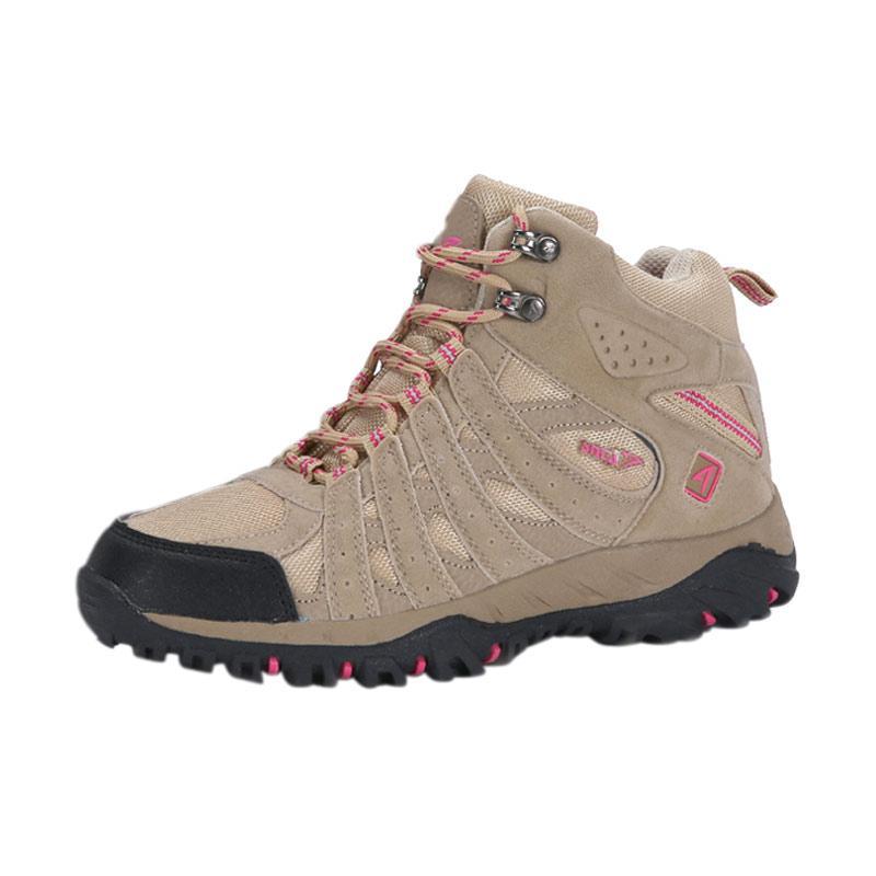 Snta 606 Beige Women Series Waterproof Sepatu Outdoor
