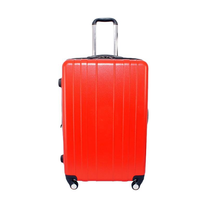 Kelebihan Kekurangan Real Polo 7716 Hardcase Fiber Tas Koper - Merah [Size 28 Inch]
