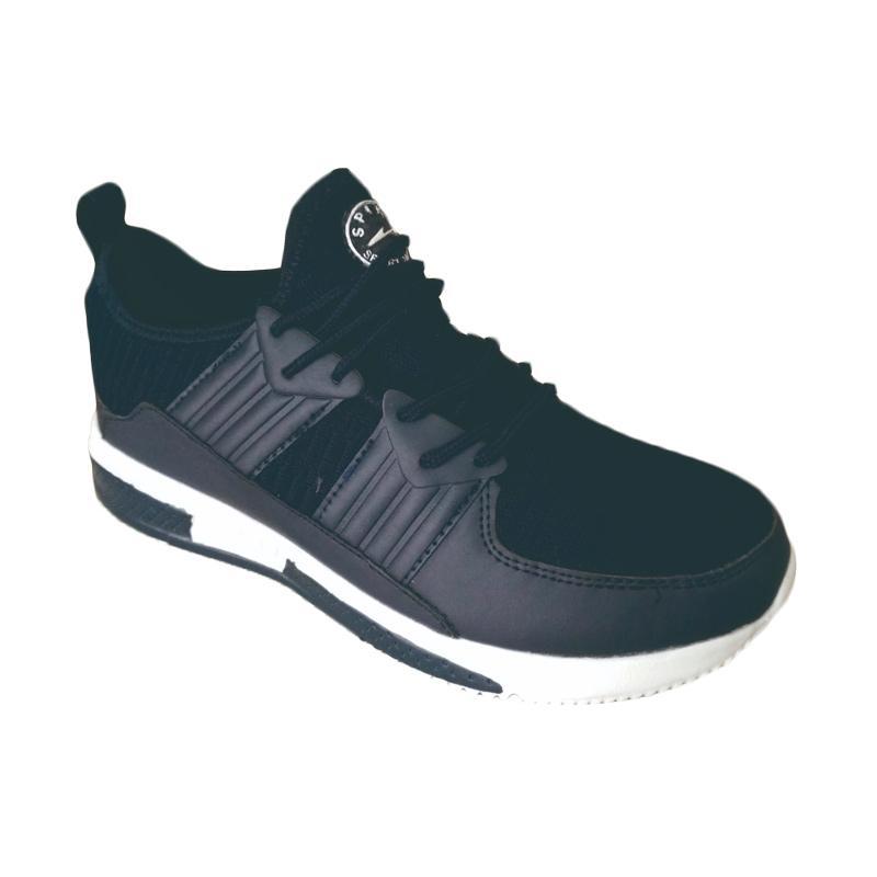 harga Spike Sepatu Olahraga Pria - Navy [DMX5685] Blibli.com
