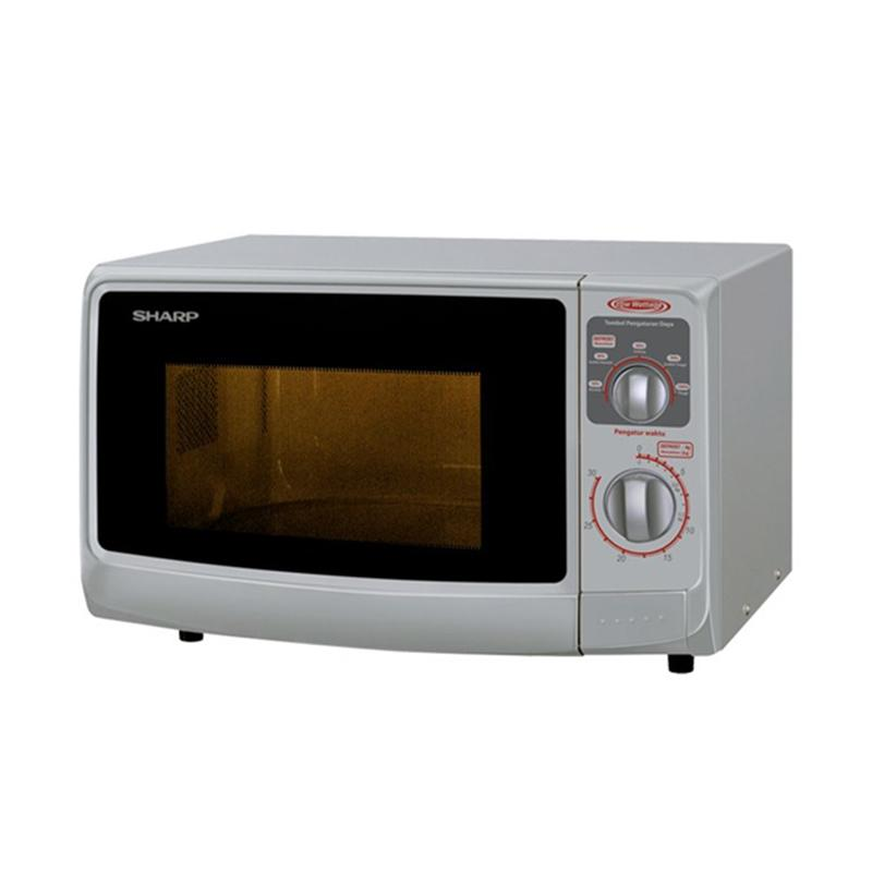 SHARP R-222YW Microwave Oven - Putih [Low Watt]