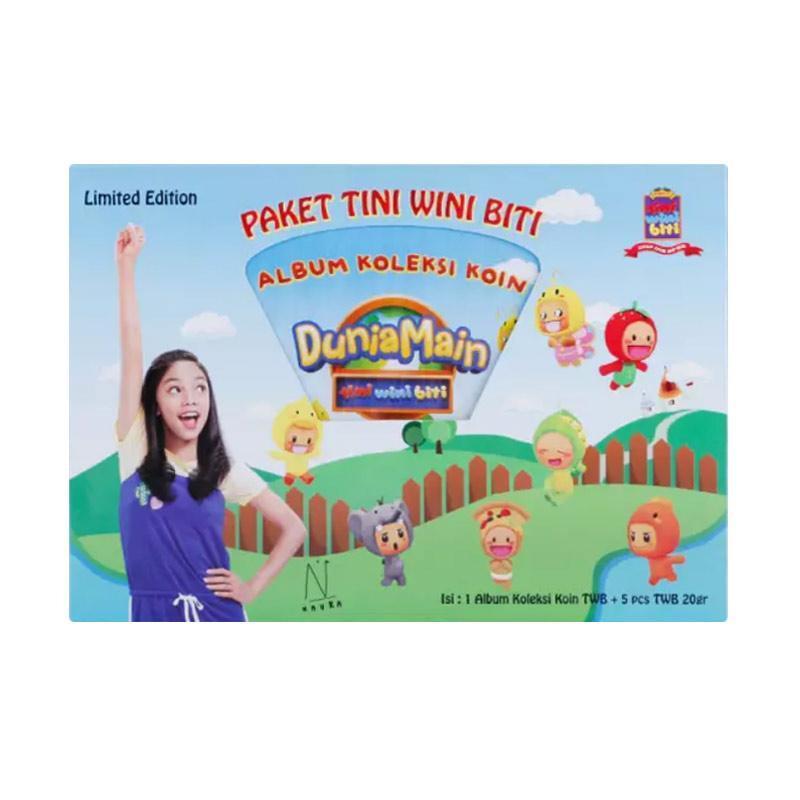harga WHS - Paket Tini Wini Biti Makanan Kering [5 Pcs] + Free Album Koleksi Koin Blibli.com