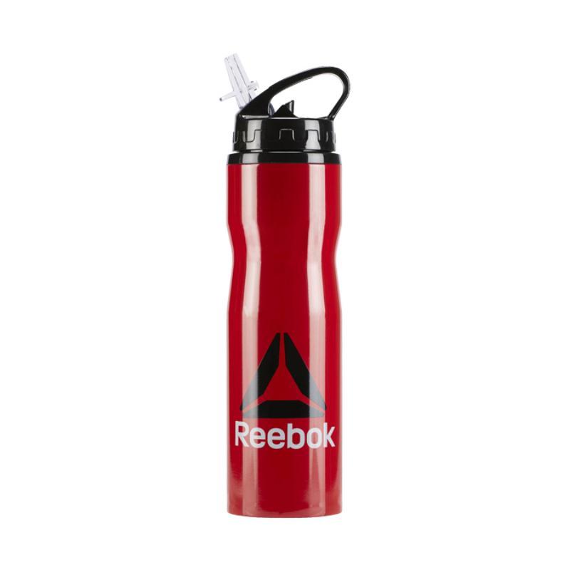 Reebok OS U Waterbottle Metal Botol Minum Olahraga [BR8914/ 750 mL]