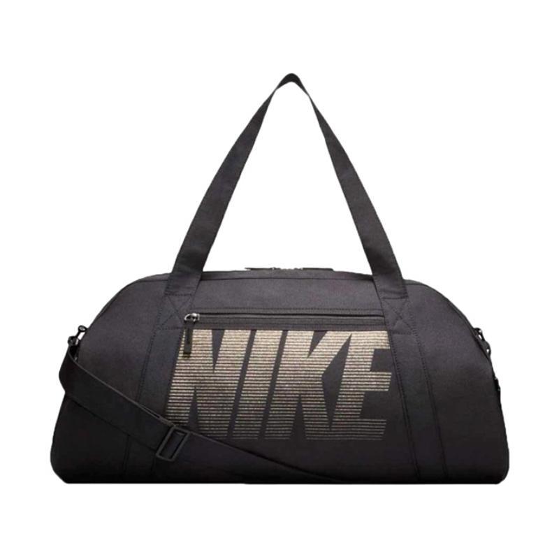 NIKE Gym Club Sport Bag - Black White [BA5490014]
