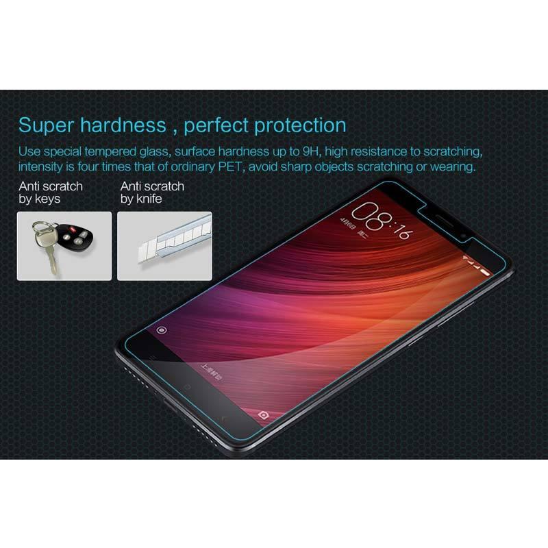 Jual Nillkin Amazing H Tempered Glass Screen Protector for Xiaomi Redmi Note 4X/Redmi Note 4 Pro - Clear Online - Harga & Kualitas Terjamin | Blibli.com