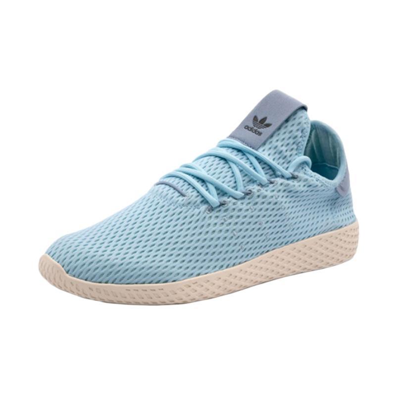 adidas PW Tennis HU Originals M Shoes Sepatu Olahraga Pria - Aqua Blue [CP9764]