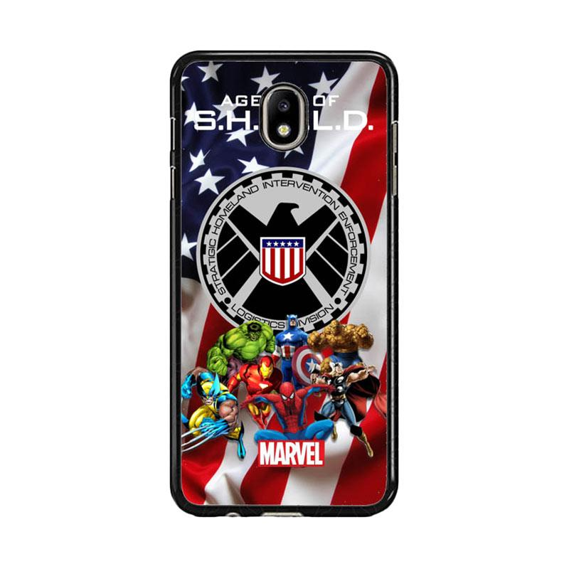 Acc Hp Agents Of Shield Marvel W3639 Custom Casing for Samsung J7 Pro