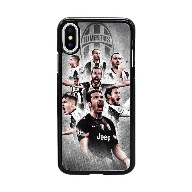Acc Hp Juventus Fc Soccer Club W4935 Custom Casing for iPhone X