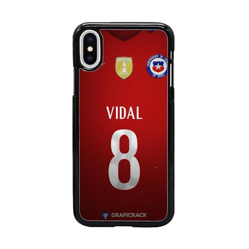 Acc Hp Chile Football Federation Jersey W5012 Custom Casing for iPhone X