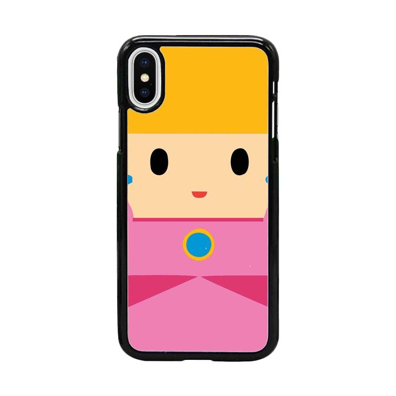 Acc Hp Princess Peach Mermaid W5056 Custom Casing for iPhone X