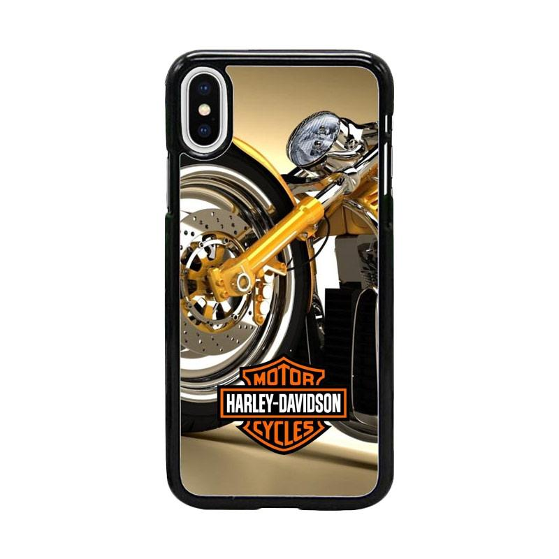 Acc Hp Harley Davidson Brand W5115 Custom Casing for iPhone X