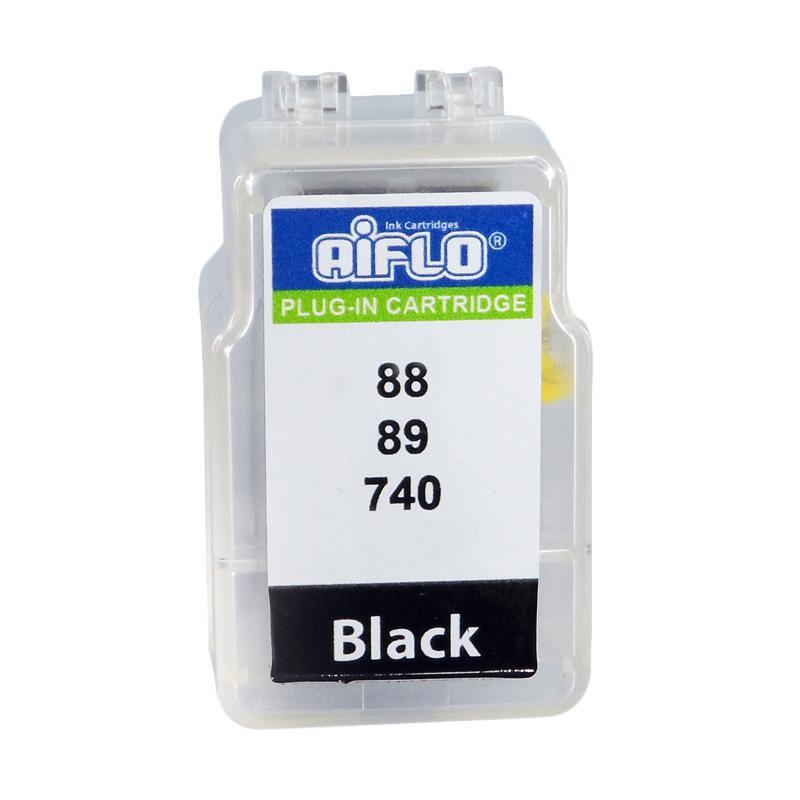 harga Aiflo Plug-In 740 Smart Cartridge Tinta Printer for Canon Inkjet MG2170 or E500 - Black Blibli.com