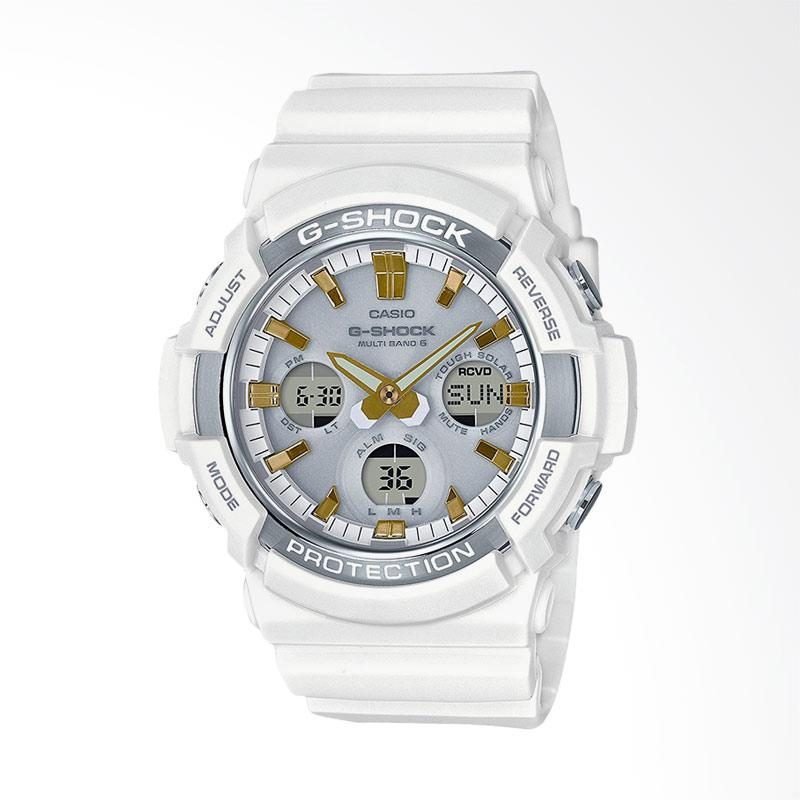Jual CASIO G-Shock Digital Analog Resin Band Jam Tangan Pria - White   GAW-100GA-7AJF  Online - Harga   Kualitas Terjamin  43bfb3de20
